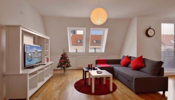 Deluxe apartmán s 2 spálňami – Ul. 29. augusta